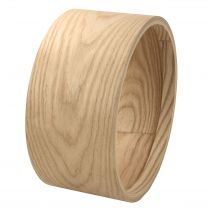 "STEAMBENT SOLID ASH SHELL 13"" x 6.5"""