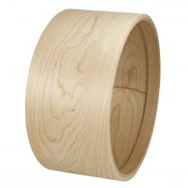 "STEAMBENT SOLID MAPLE SHELL 13"" x 6.5"""