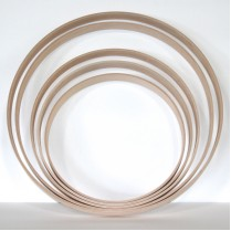 "18"" Bass Hoop 12ply Birch / Batter or Resonant"