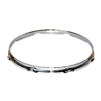 "13"" x 8 Tension 2.5mm Triple Flanged Brass Hoop Snare Side"