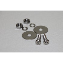 Mounting Screw Set for Butt Plate BE-001 (4mm x 10mm)